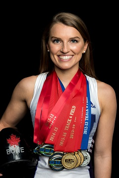 Robin Bone with OUA and CIS medals